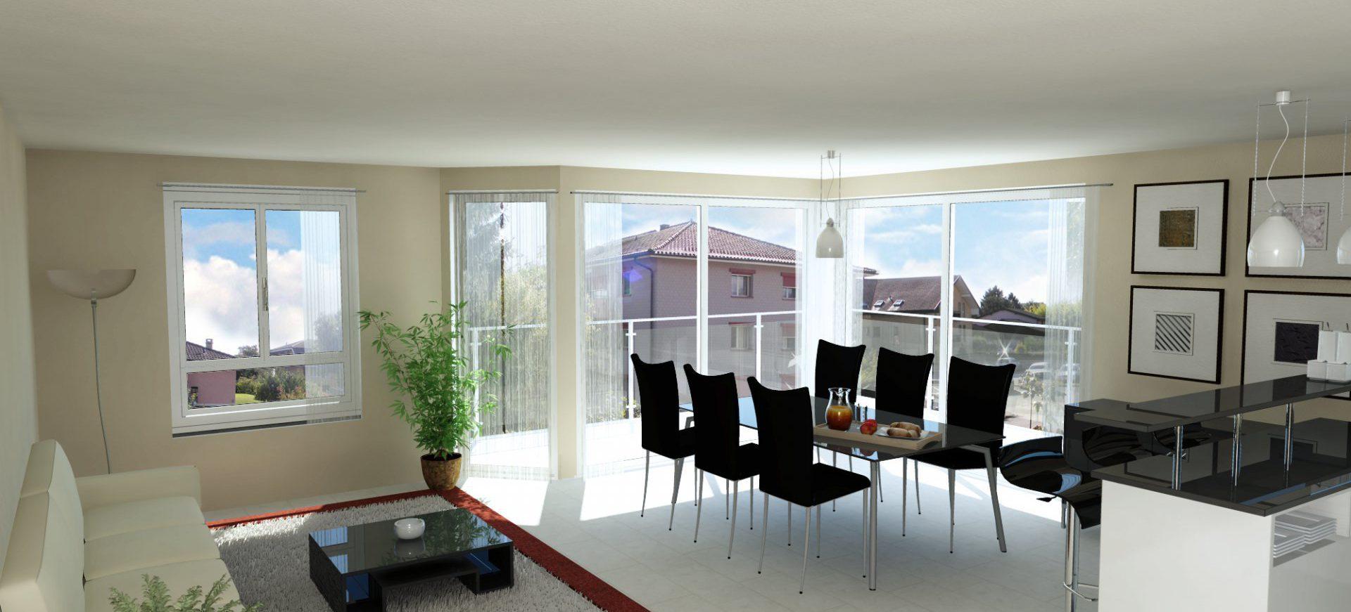 Appartement neuf de 4.5 pièces à St-Prex avec finitions à choix